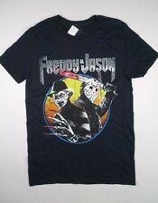 Freddy Vs. Jason Nightmare on Elm Street Friday the 13th Movie T-Shirt Sm S