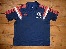 Size:XL SCOTLAND football SHIRT Polo Top Soccer Jersey Classic Top