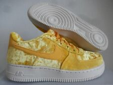 "Nike Air Force 1 Lv8 (Gs) ""Mineral Gold Velvet"" Sz 7Y-Womens Sz 8.5 [849345-700]"
