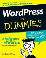 WordPress For Dummies By Lisa Sabin-Wilson, Matt Mullenweg