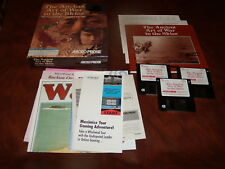 """The Ancient Art of War in the Skies (IBM,, 1992) 3.5"""" floppy disk, box & inserts"""