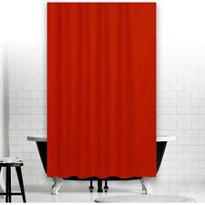 Rideau de douche en tissu uni rouge 180x200 incl. ANNEAUX 180 large x 200 haut