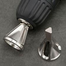 Stainless Steel Deburring External Chamfer Tool Drill Bit Remove Burr 8-32 Bolt