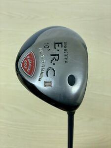 Callaway ERC II driver / 10 Degree / Firm Graphite / Right Handed