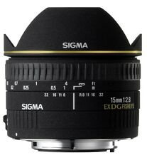 Sigma 15mm f2.8 DG Diagonal Fisheye Lens For Pentax K Mount (UK Stock) BNIB