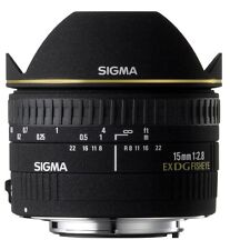 Sigma 15mm f2.8 DG diagonal fisheye pour Pentax k mount (uk stock) bnib
