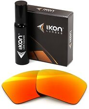 Polarized IKON Replacement Lenses For SPY Touring Sunglasses Fire Orange Mirror