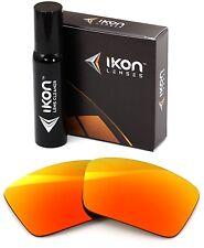 Polarized IKON Iridium Replacement Lenses For Oakley Oil Drum Fire Mirror