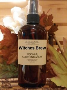 Witches Brew room & clothing spray 4.5oz, sweet spicy aroma patchouli