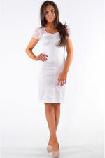 Women's No Pattern Scoop Neck Stretch, Bodycon Formal Dresses