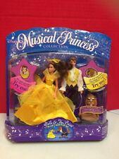 Musical Princess Disney Belle And The Beast Mattel 1994 Figure Set
