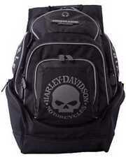 Harley-Davidson Mens Skull Backpack BP1924S-BLACK