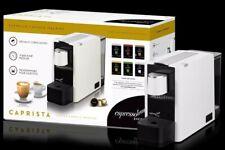 ✔Espressotoria Caprista Espresso Coffee Pod Machine, White (CMMCXS735WM)