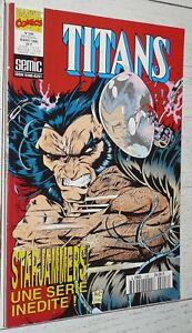 MARVEL SEMIC TITANS N°206 1996 STARJAMMERS EXCALIBUR BLACKWULF FORCE WORKS