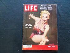 1955 MARCH 21 LIFE MAGAZINE - ACTRESS SHEREE NORTH - L 947