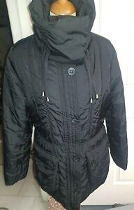 Monsoon Women's Puffer Winter Coat, Black Size 18