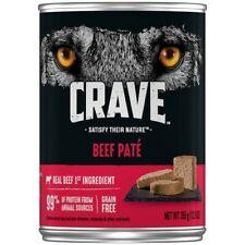 Crave Beef Paté Dog Food 12.5 oz Can