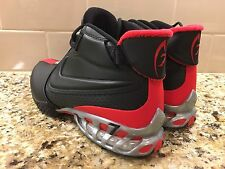 Nike Air Zoom Vick II Falcons Mens 599446-005 Black Red Training Shoes Size 10