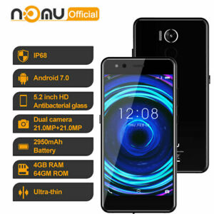 NOMU M8 4G Rugged Android Smartphone Waterproof Phone Dustproof Mobile Octa Core