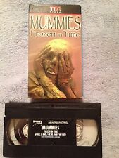 Mummies: Frozen in Time (1999) - VHS Video Tape - Documentary - TLC Video