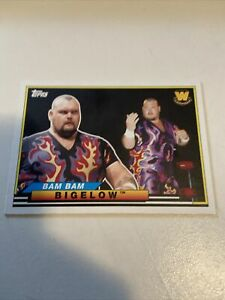 2018 Topps Heritage WWE Big Legends Bam Bam Bigelow