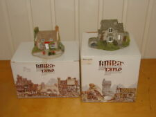 2 Collectable Lilliput Lane Boxed Cottages Post Office & Helmere Cottage