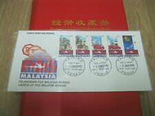 FDC MALAYSIA 1992 - Pelancaran Pos malaysia Bhd