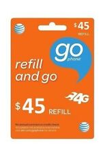 At&T GoPhone $45 Refill