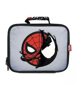 Disney Marvel Spider-Man Insulated Authentic Lunch Box BNWT Venon