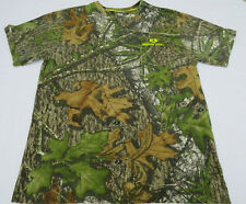 Mossy Oak Camo Short Sleeve Camouflage T Shirt  Mens M