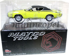 RACING CHAMPIONS MM2713 MATCO TOOLS AUTHENTICS 1971 DODGE SUPER BEE 1/18 YELLOW