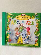 ABC & 123 KINDER Spiel Spasslieder Singen CD MUSIK FAMILIEN EDITION Kita Kind