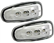2 CLIGNOTANTS LATERAUX CLEAR A LED MERCEDES CLASSE E W210 E 220 D 08//1995-02//200