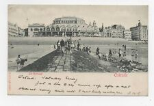 Vintage Postcard - Belgium, Ostende, Le Kursaal 1919 - pre-owned