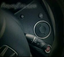 HONDA CIVIC MK8 PRE-CUT STICKER DASHBOARD CARBON FIBRE EFFECT VINYL 2006-12 FN2