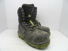 DUNLOP Mens 8'' Composite Toe Composite Plate Leather Work Boot DLNA16100 10M