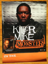 KILLER MIKE Monster 18x24 promo poster 2sided Michael Render Bigga Bernie Sander
