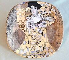 Porzellanteller Gustav Klimt, Lilienporzellan, 'Adele Bloch-Bauer', neuwertig