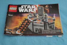 Lego Disney 75137 Star Wars Carbon Freezing Chamber Instruction Manual.