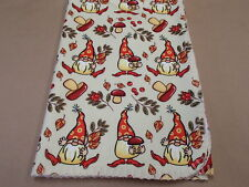 Norwegian Red Embroidered Baby Blanket Lil Norskie or Uff Da