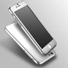 Nuevo estuche duro de 360 ° con vidrio templado para iphone 6, 6s Plata Incluido