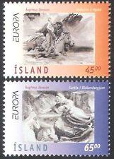 Iceland 1997 Europa/Legends/Folk Tales/Stories/Horses/Animals 2v set (n41350)