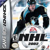 NHL 2002, (GB Advance)
