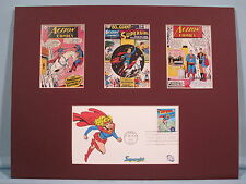 DC Comic Book Hero Supergirl & First Day Cover