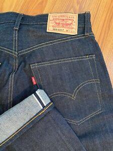 Levis Vintage Clothing 505-0217 33x34 Denim Selvedge Jeans 1967 LVC