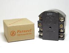 ZETTLER Relè fernzet, 42v, 2-poli ON/OFF, 220 VOLT/10a, Interruttore a distanza, NOS