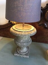 RARE 19TH CENTURY MARBLE URNS CONVERTED INTO LAMPS - VICTORIAN - STONE