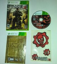 Gears Of War 3 include sticker pack Xbox 360