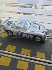 Scalextric Silver/Purple TVR Speed 12 with LED headlights