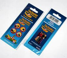THE BEATLES 1960's Pop Rock Band YELLOW SUBMARINE Magnetic Rubber BOOKMARK New